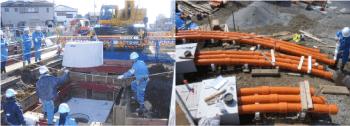 電力管路設置工事