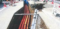 地中電力設備構築